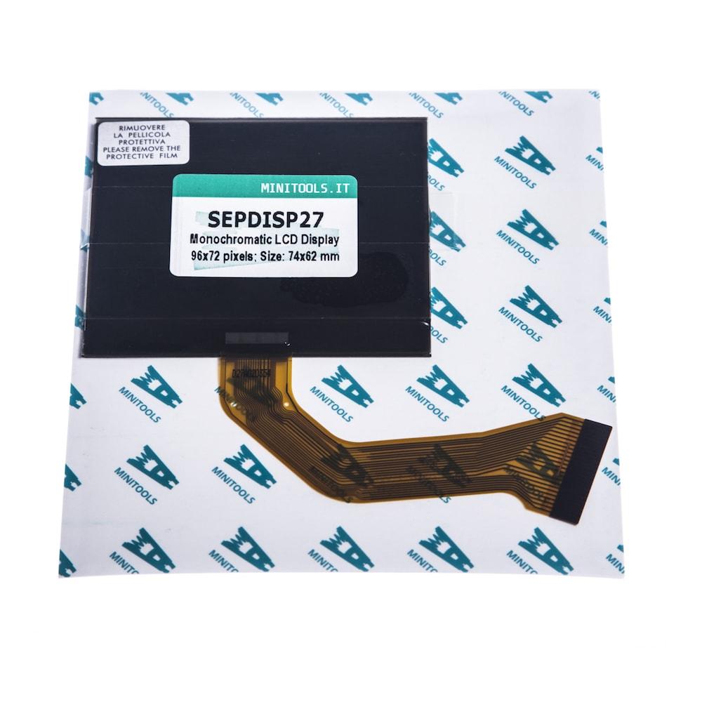 SEPDISP27 Yol Bilgisayarı Ekranı